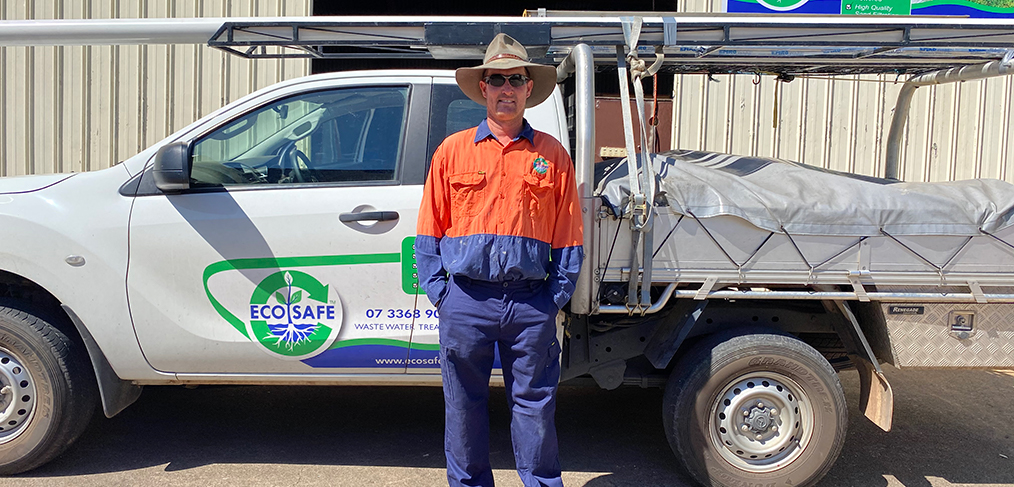 Home Sewage Treatment Plant | Meet Installer Stephen Ottrey